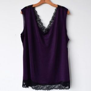 Dex Camisole with Lace Detail